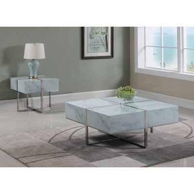 Tiyrene 2 Piece Coffee Table Set