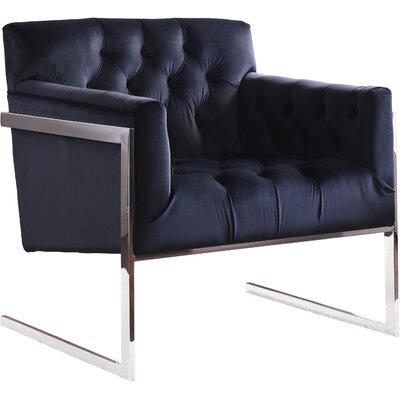 Abena Armchair Upholstery: Black