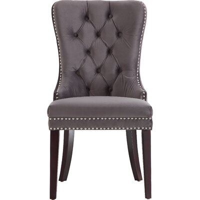 Stonefort Upholstered Dining Chair Upholstery: Gray