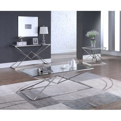 Jhoana 3 Piece Coffee Table Set
