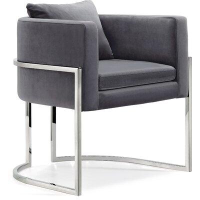 Saba Armchair Upholstery: Gray