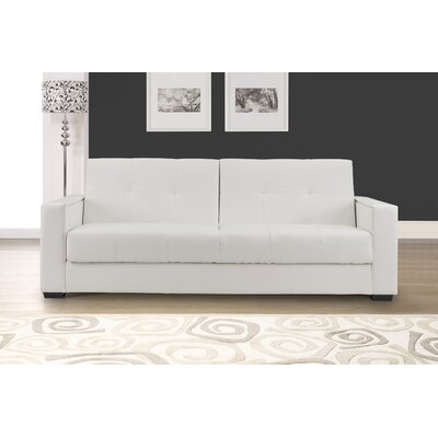 DC-FNZ-S3-B15-WH DMVT1001 Domus Vita Design Faenza Leather Convertible Sofa