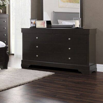 Manhattan 6 Drawer Double Dresser