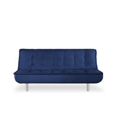 Monza Convertible Sofa Upholstery: Deluxe Blue
