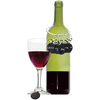 Sophronia Chalkboard Wine Charm Set