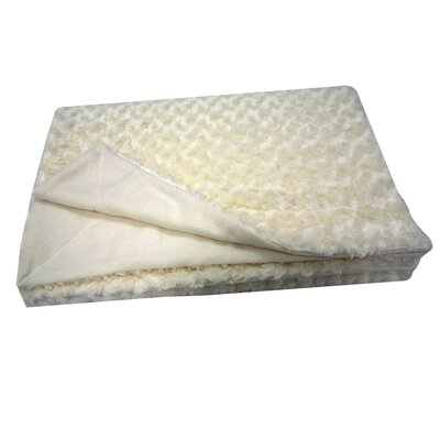 Sculpted Throw Color: Off White