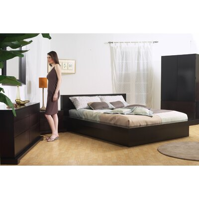 Zurich Platform  Reviews on Lifestyle Solutions Zurich 5 Piece Platform Bedroom Set  Cappuccino