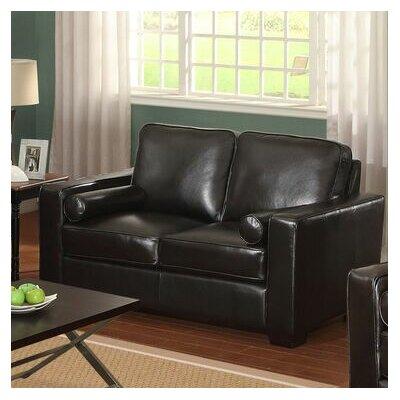 LA-DRW-S2-35-VM LF2063 LifeStyle Solutions Siena Leather Loveseat