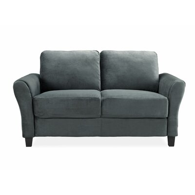 CCWENKS2M26DGRA LF2052 LifeStyle Solutions Westin Rolled Arm Loveseat