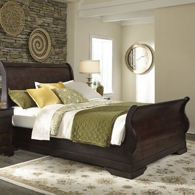 Malloy Sleigh Bed Size: California King