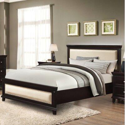 Curt Upholstered Platform Bed Size: King