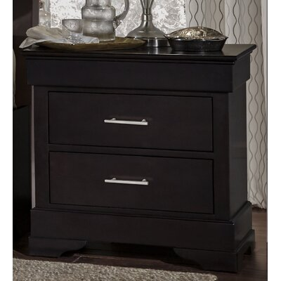 Mcmahon 2 Drawer Nightstand