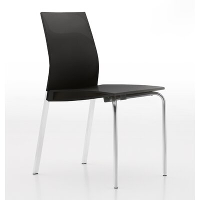 Galant Side Chair Finish: Glossy Dark Grey