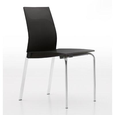 Galant Side Chair Finish: Glossy Dark Grey