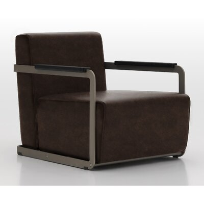 Glorenza Lounge Chair Upholstery: Bronze