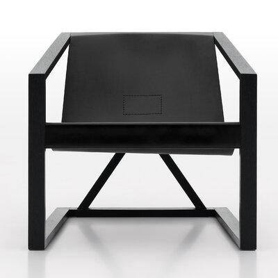 Coronado Arm Chair Finish: Black