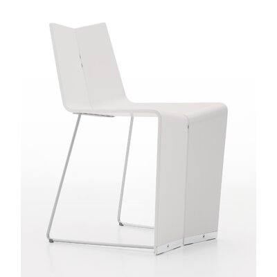 Colletti Geovan Side Chair Upholstery: White