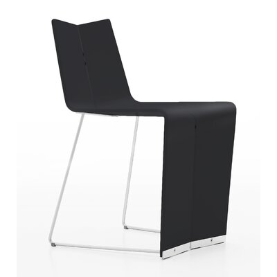 Colletti Geovan Side Chair Upholstery: Black