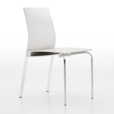 Galant Side Chair Finish: Glossy White