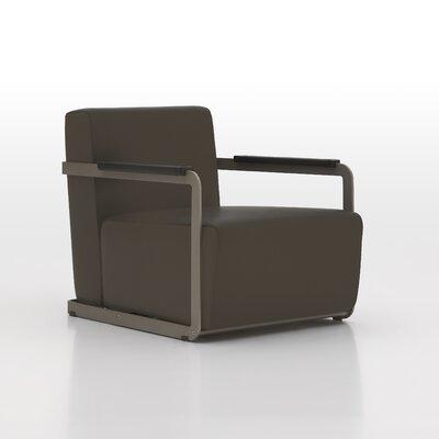 Glorenza Lounge Chair Upholstery: Brown