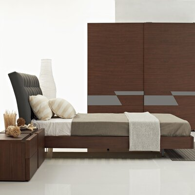 Bella Queen Platform Customizable Bedroom Set