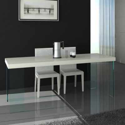 Fenley Dining Table Top Finish: White Lacquer