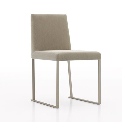 Lensua Upholstered Dining Chair Color: Brown