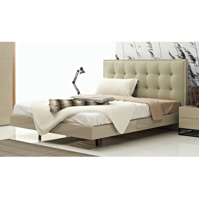 Devitto Queen Upholstered Platform Bed