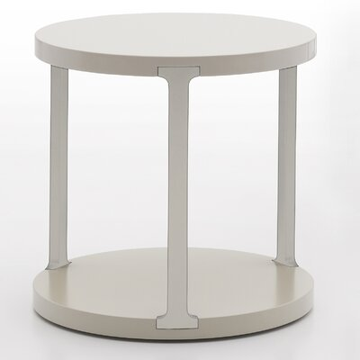 Vittoria End Table Color: Beige