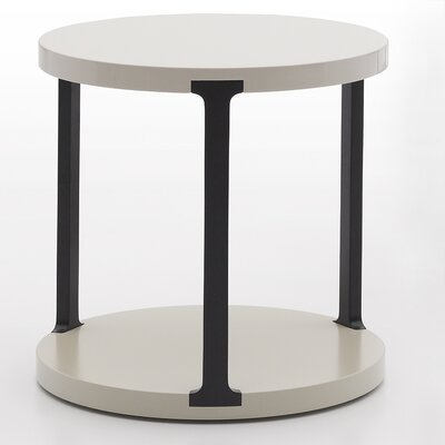 Vittoria End Table Color: Dark Grey