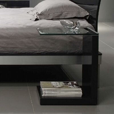 Tavolino End Table Color: Glossy Dark Grey