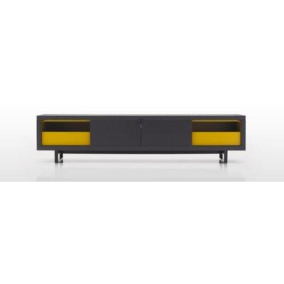 Lensua TV Stand Color: Black
