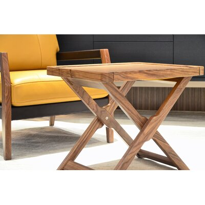Coronado Marchetti End Table Finish: Walnut