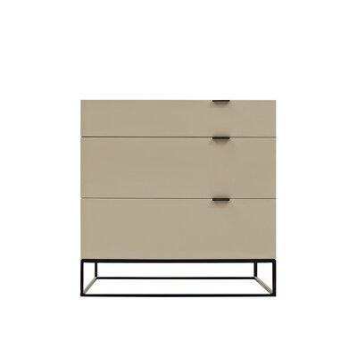 Devitto 3 Drawer Dresser