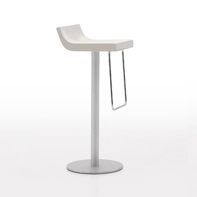Basi Bar Stool Upholstery: Glossy Beige