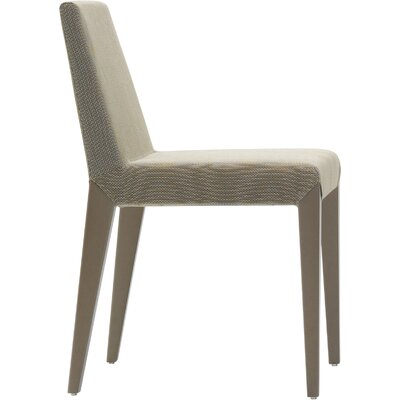 Miranda Side Chair Upholstery Color: Brown