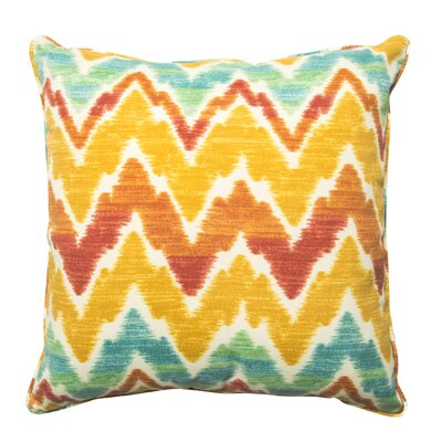 Everyday Single Piped Zippered Outdoor Throw Pillow Size: 12 W x 18 H