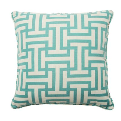 Premium Single Piped Zippered Throw Pillow Size: 18 H x 18 W