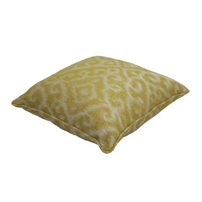Premium Single Piped Zippered Outdoor Throw Pillow Size: 18 H x 18 W