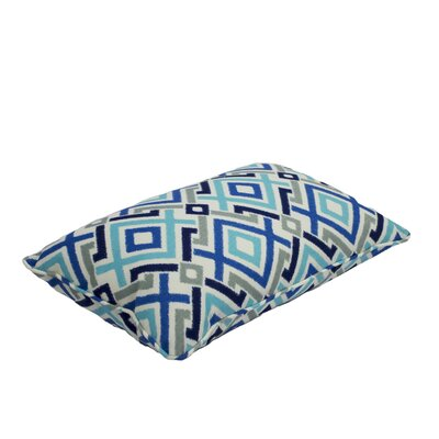 Everyday Single Piped Zippered Outdoor Throw Pillow Size: 13 W x 21 H