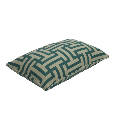 Premium Single Piped Zippered Lumbar Pillow Size: 12 H x 18 W