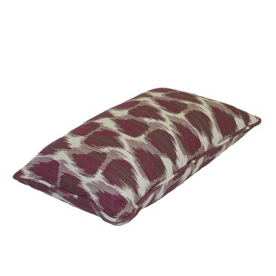 Premium Single Piped Zippered Outdoor Throw Pillow Size: 12 W x 18 H
