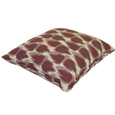 Premium Single Piped Zippered Outdoor Throw Pillow Size: 20 H x 20 W