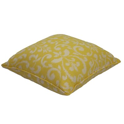 Everyday Single Piped Zippered Outdoor Throw Pillow Size: 22 H x 22 W