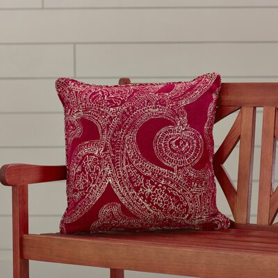 Premium Single Piped Zippered Outdoor Throw Pillow Size: 22 H x 22 W