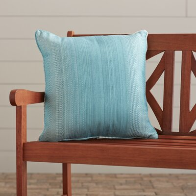 Premium Single Piped Zippered Outdoor Throw Pillow Size: 16 H x 16 W