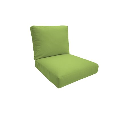 Everyday Outdoor Lounge Chair Cushion Fabric: Apple Green, Size: Medium
