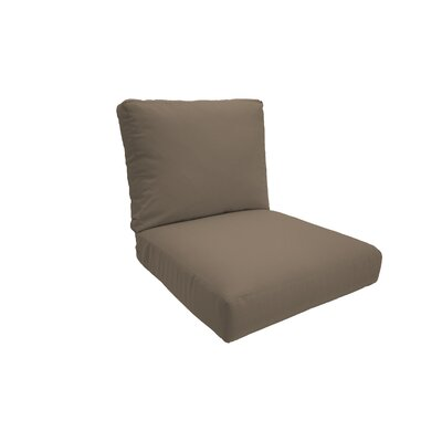 Everyday Outdoor Lounge Chair Cushion Size: Small, Fabric: Sandstone