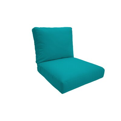 Everyday Outdoor Lounge Chair Cushion Fabric: Atlantis, Size: Medium