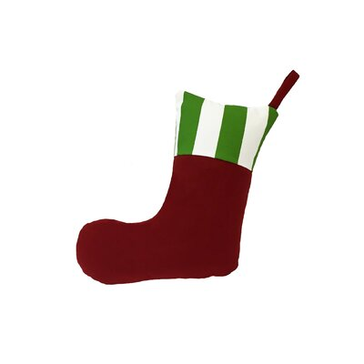 Holiday Stocking with Cuff Pillow